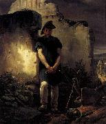 Horace Vernet Soldier-Labourer oil painting picture wholesale