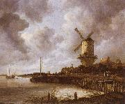 Jacob van Ruisdael The mill by District by Duurstede oil painting picture wholesale