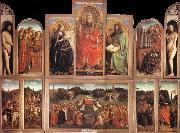 Jan Van Eyck The Ghent Altarpiece oil painting picture wholesale