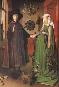 Jan Van Eyck Giovanni Arnolfini and his Bride oil painting picture wholesale