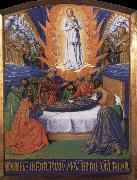 Jean Fouquet The death of the Virgin, of The golden book of the gentleman oil painting picture wholesale