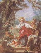 Jean Honore Fragonard Blind-Man-s Bluff oil painting picture wholesale