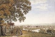 Johann Jakob Biedermann Seen City of Zurich oil painting picture wholesale