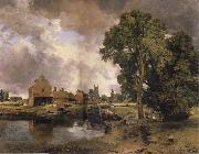 John Constable Dedham Mill oil painting picture wholesale