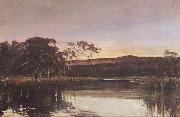John Ford Paterson Sunset,Werribee River oil painting picture wholesale