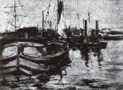 John Henry Twachtman New York Haffen oil painting picture wholesale