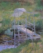 John Henry Twachtman The White Bridge oil painting picture wholesale