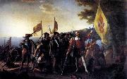 John Vanderlyn Columbus Landing at Guanahani, 1492 oil painting picture wholesale