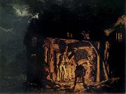 Joseph wright of derby The Blacksmith-s shop oil painting picture wholesale