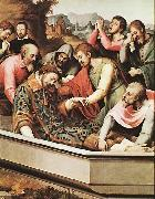 Juan de Juanes The Entombment of St Stephen Martyr oil painting artist