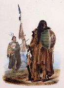 Karl Bodmer Assiniboin Indians oil painting picture wholesale