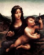 LEONARDO da Vinci Madonna with the Yarnwinder oil painting picture wholesale