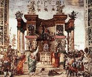 LIPPI, Filippino St Philip Driving the Dragon from the Temple of Hieropolis oil painting picture wholesale