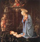 LIPPI, Fra Filippo Madonna in the Forest oil painting picture wholesale
