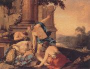 Laurent de la Hyre Mercury Takes Bacchus to be Brought Up by Nymphs oil painting picture wholesale
