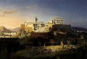 Leo von Klenze The Acropolis at Athens oil painting picture wholesale