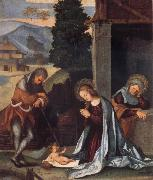 Lodovico Mazzolino The Nativity oil painting picture wholesale