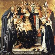 Lorenzo di Alessandro da Sanseverino The Mystic Marriage of Saint Catherine of Siena oil painting picture wholesale