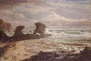 Louis Buvelot Childers Cove oil painting artist