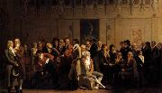 Louis Leopold  Boilly Meeting of Artists in Isabey-s Studio oil painting picture wholesale