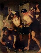 Luca  Giordano The Forge of Vulcan oil painting picture wholesale