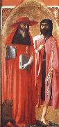 MASACCIO Saints Jerome and john the Baptist oil painting picture wholesale