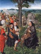 MASTER of Saint Gilles Saint Giles and the Wounded Hind oil painting picture wholesale