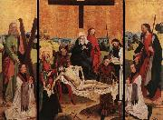 MASTER of the Life of the Virgin Triptych of Canon Gerhard ter Streegen de Monte oil painting picture wholesale