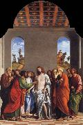MORONI, Giovanni Battista The Incredulity of Saint Thomas oil painting picture wholesale