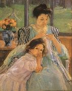 Mary Cassatt Young Mother Sewing oil painting picture wholesale