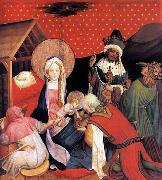 Master Francke Adoration of the Magi oil painting picture wholesale