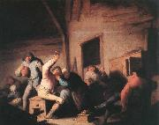OSTADE, Adriaen Jansz. van Carousing Peasants in a Tavern oil painting picture wholesale