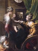 PARMIGIANINO The Mystic Marriage of Saint Catherine oil painting picture wholesale