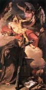 PITTONI, Giambattista Sts Jerome and Peter of Alcantara oil painting picture wholesale