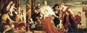 Paolo  Veronese The Madonna of the house of Coccina oil painting picture wholesale