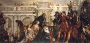 Paolo  Veronese The Family fo Darius Before Alexander the Great oil painting picture wholesale