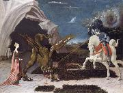 Paolo Ucello Saint George,the Princess and the Dragon oil painting artist