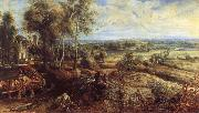 Peter Paul Rubens An Autumn Landscape with a View of Het Steen in the Earyl Morning oil painting picture wholesale