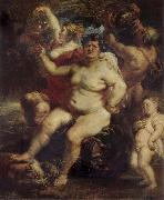 Peter Paul Rubens Bacchus oil painting reproduction