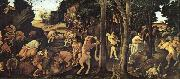 Piero di Cosimo A Hunting Scene oil painting picture wholesale