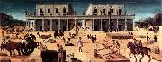 Piero di Cosimo The Building of a Palace oil painting picture wholesale