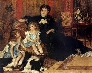 Pierre-Auguste Renoir Madame Charpenting and Children oil painting picture wholesale