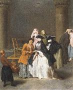 Pietro Longhi A Fortune Teller at Venice oil painting picture wholesale
