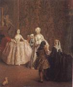 Pietro Longhi The introduction oil painting picture wholesale