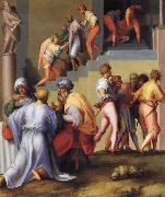Pontormo Pharaoh Pardons the Butler and Ordes the Execution of the Baker oil painting picture wholesale