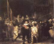 REMBRANDT Harmenszoon van Rijn The Company of Frans Banning Cocq and Willem van Ruytenburch also Known as the Night Watch oil painting picture wholesale