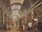 ROBERT, Hubert Design for the Grande Galerie in the Louvre oil painting picture wholesale