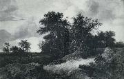RUISDAEL, Jacob Isaackszon van House in a Grove oil painting picture wholesale
