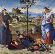 Raphael The Vision of a Knight oil painting picture wholesale