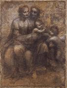 Raphael The Virgin and Child with Saint Anne and Saint John the Baptist oil painting picture wholesale